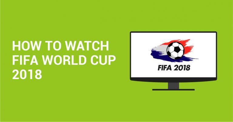 Sådan ses FIFA World Cup 2018