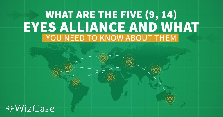 Forstå de Fem, Ni og 14 Eyes Alliance før der vælges nogen VPN!