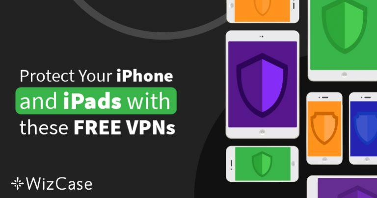 De 6 bedste gratis VPN'er til iPhone og iPad (testet i Oktober 2021)