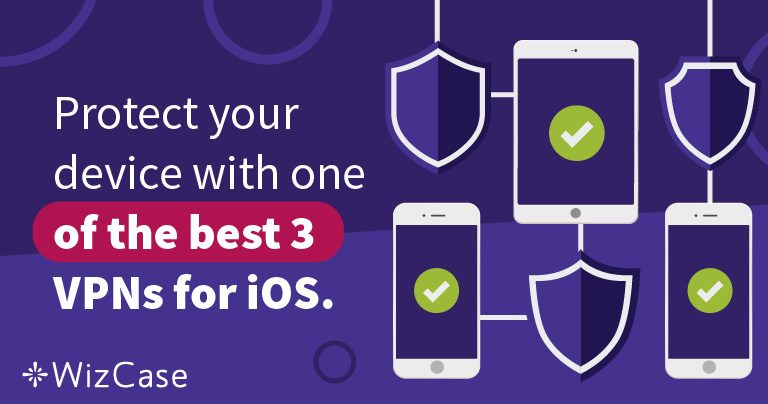Bedste 3 VPN for iOS