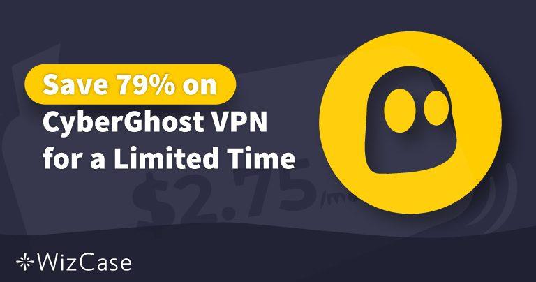 Gyldig CyberGhost VPN-Rabatkupon 2020: Spar op til 79% I dag Wizcase
