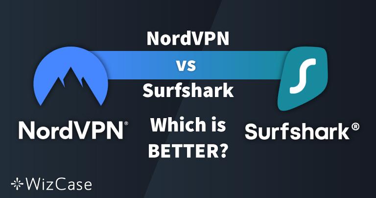 NordVPN vs. Surfshark: 13 sammenligningsteste, én vinder i 2021
