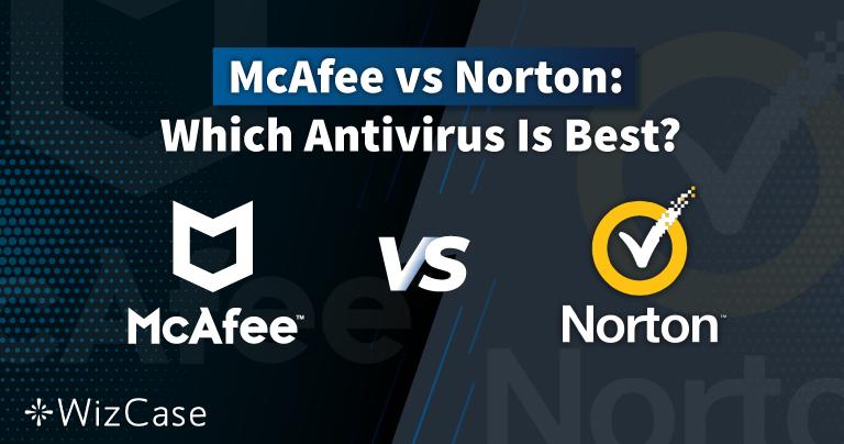 Norton vs McAfee 2021: Hvilken antivirus er egentlig den bedste?